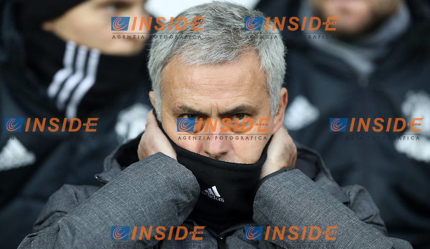 Football - 2017 / 2018 Premier League - West Bromwich Albion vs. Manchester United ManU Jose Mourinho manager of Manchester United at The Hawthorns. COLORSPORT/LYNNE CAMERON PUBLICATIONxNOTxINxUK  <br /> Premier League 2017/2018 <br /> Foto Imago / Insidefoto
