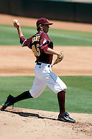 Josh Spence - Arizona State Sun Devils playing against the UCLA Bruins at Packard Stadium, Tempe, AZ - 05/24/2009.Photo by:  Bill Mitchell/Four Seam Images