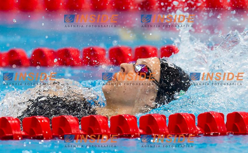 FRANCESCHI Sara ITA<br /> London, Queen Elizabeth II Olympic Park Pool <br /> LEN 2016 European Aquatics Elite Championships <br /> Swimming<br /> Woen's 200m medley semifinal  <br /> Day 10 18-05-2016<br /> Photo Giorgio Perottino/Deepbluemedia/Insidefoto