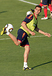 MADRID (24/05/09).- The Spanish Soccer national team has officially begun their hunt for the championship, arriving in the Madrid municipality of Las Rozas to begin preparing for South Africa World Cup.  Sergio Busquets...PHOTO: Cesar Cebolla / ALFAQUI