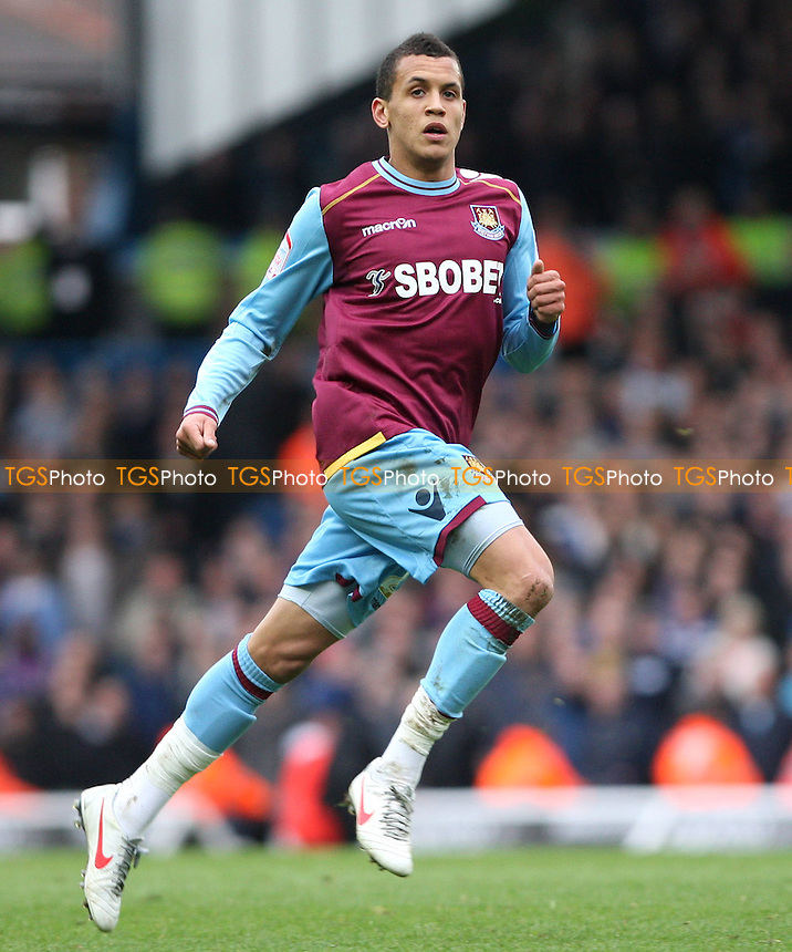 Ravel Morrison makes his West Ham debut - Leeds United vs West Ham United, npower Championship at Elland Road, Leeds - 17/03/12 - MANDATORY CREDIT: Rob Newell/TGSPHOTO - Self billing applies where appropriate - 0845 094 6026 - contact@tgsphoto.co.uk - NO UNPAID USE..