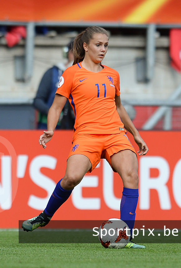 20170806 - ENSCHEDE , NETHERLANDS : Dutch Lieke Martens  pictured during the female soccer game between The Netherlands and Denmark  , the final at the Women's Euro 2017 , European Championship in The Netherlands 2017 , Sunday 6th of August 2017 at Grolsch Veste Stadion FC Twente in Enschede , The Netherlands PHOTO SPORTPIX.BE | DAVID CATRY