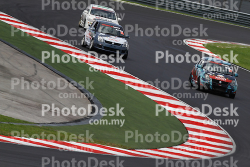 KUALA LUMPUR, MALAYSIA - May 28: William HO Wee Leong of Malaysia (#37) and Kenny LEE of Malaysia (#38) Malaysia Championship Series Round 1 at Sepang International Circuit on May 28, 2016 in Kuala Lumpur, Malaysia. Photo by Peter Lim/PhotoDesk.com.my