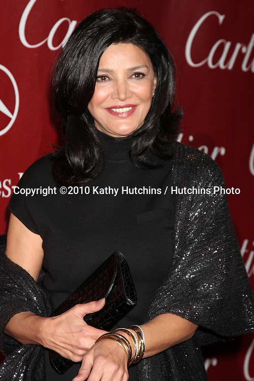 Shohreh Aghdashloo.arriving at the 2010 Palm Springs Film Festival Awards Gala.Palm Springs Convention Center.January 5, 2010.©2010 Kathy Hutchins / Hutchins Photo.