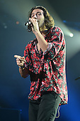 SUNRISE, FL - DECEMBER 21: Nasri Atweh of Magic performs during the Y100's Jingle Ball 2014 at BB&T Center on December 21, 2014 in Miami, Florida. Credit Larry Marano (C) 2014