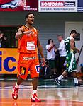 S&ouml;dert&auml;lje 2014-01-03 Basket Basketligan S&ouml;dert&auml;lje Kings - Bor&aring;s Basket :  <br /> Bor&aring;s James &quot;JJ&quot; Miller  jublar efter slutisignalen<br /> (Foto: Kenta J&ouml;nsson) Nyckelord:  jubel gl&auml;dje lycka glad happy