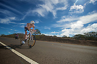 Uplace Pro Triathlon Team at Ironman Hawaii 2011..raceday!