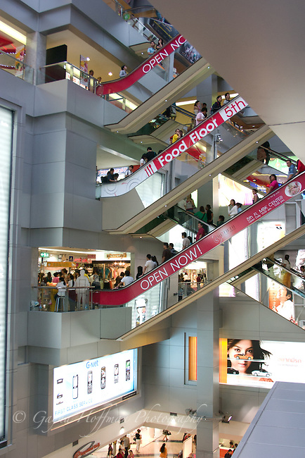 MBK Center, interior. Bangkok, Thailand