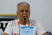 SÃO PAULO, SP, 30.07.2017 - MONSTER JAM- O presidente do Corinthians Roberto de Andrade durante o anúncio da realização do evento Monster Jam na Arena Corinthians no mês de dezembro de 2017. (Foto: Adriana Spaca/Brazil Photo Press)