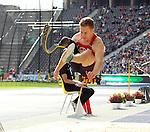 31.08.2014, OLympiastadion, Berlin, GER, Leichathletik, ISTAF-2014, im Bild Weitsprung, Markus Rehm (GER)<br /> <br />               <br /> Foto &copy; nordphoto /  Engler