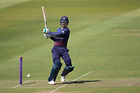Keaton Jennings of Lancashire CCC pulls a short delivery square of the wicket during Middlesex vs Lancashire, Royal London One-Day Cup Cricket at Lord's Cricket Ground on 10th May 2019