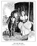 """UNO and the Lion. """"Table for two thousand? Certainly, Miss."""""""