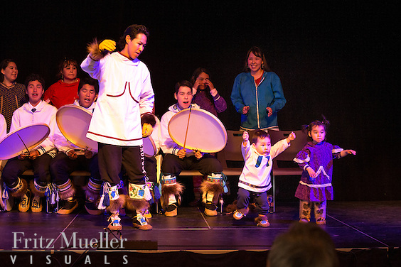 Adaka Cultural Festival 2016, Whitehorse, Yukon, Canada, Yukon First Nation Culture and Tourism Association, Kwanlin Dun Cultural Centre, Tuktoyaktuk Drummers