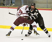 Nathan Sinz (Colgate - 24) and Kyle Maggard (Army - 27) battle. - The host Colgate University Raiders defeated the Army Black Knights 3-1 in the first Cape Cod Classic at the Hyannis Youth and Community Center in Hyannis, MA.
