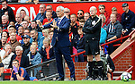 Leicester City manager Claudio Ranieri gestures during the Premier League match at Old Trafford Stadium, Manchester. Picture date: September 24th, 2016. Pic Sportimage