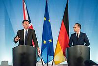 2018/07/23 Politik | Treffen der Aussenminster Heiko Maas & Jeremy Hunt
