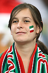 21 June 2006: A Mexico fan.  Portugal defeated Mexico 2-1 at Veltins Arena in Gelsenkirchen, Germany in match 31, a Group D first round game, of the 2006 FIFA World Cup.