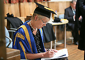 The Pro-Chancellor, Rt Hon Baroness Bottomley of Nettlestone at the degree ceremony, University of Surrey.