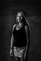 Suhelen Gabriela Cuevas Jaramillo, 30, stands for a portrait on July 28, 2016 in Mexico City, Mexico. A decade after two-dozen women were sexually assaulted and beaten by police following protests outside of Mexico City, an international human rights commission is demanding a full investigation into the officials responsible for the incident and its potential cover-up, including the president of the country, Enrique Pena Nieto, who was the state governor at the time.<br /> She was in jail for one year and a half.<br /> Her family broke down afterwards, parents divorced, <br /> Me dieron mas valor, mas fuerza. <br /> Ive had many problems, specially intimacy-related with my partner, this has been the hardest. <br /> &ldquo;The one who has been repressed feels like a small warm, because that is exactly what they want you to feel, but If you break that silence, you stop being that warm, you start screaming loud, and the loudest you do, the more people realize they are not alone in this fight.&rdquo;<br /> El reprimido se siente como un gusano peque&ntilde;o, porque eso es lo que quieren hacerte sentir , pero  si rompes ese silencio, dejas de ser ese gusano, y empiezas a gritar cada vez mas fuerte y entre mas fuerte sea ese girot  mas personas va a llegar, y mas gente se va a dar cuenta que esta en una lucha..<br />  &ldquo;They left me with half of my life and I am so angry , I wanted to  be a journalist , my family was close and united, now they are divorced, my career has fallen apart, our patrimony is gone after all the money was spent to get me out, my sexual life went to hell (&hellip;)<br /> Still, today I am happy and I feel like a whole person.  Although I feel this wouldn&rsquo;t have happened to me I would have become a much more successful person, I would have achieved much more..<br /> &ldquo;They took me the most valuable thing that is time, because no one will sell their time, not even one second for a thousand dollars, because you cant never have that ti