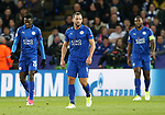 Leicester's Danny Drinkwater looks on dejected after Atletico's opening goal during the Champions League Quarter-Final 2nd leg match at the King Power Stadium, Leicester. Picture date: April 18th, 2017. Pic credit should read: David Klein/Sportimage