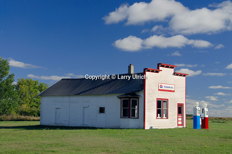 1894 Rogers Lumber Company<br />   Solheim Service Station<br /> Manfred<br /> Wells County, North Dakota
