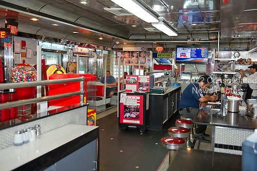 Interior of the American City Diner, 5532 Connecticut Ave, NW; Washington, DC 20015, on Tuesday, August 11, 2015.<br /> Credit: Ron Sachs / CNP<br /> (RESTRICTION: NO New York or New Jersey Newspapers or newspapers within a 75 mile radius of New York City)