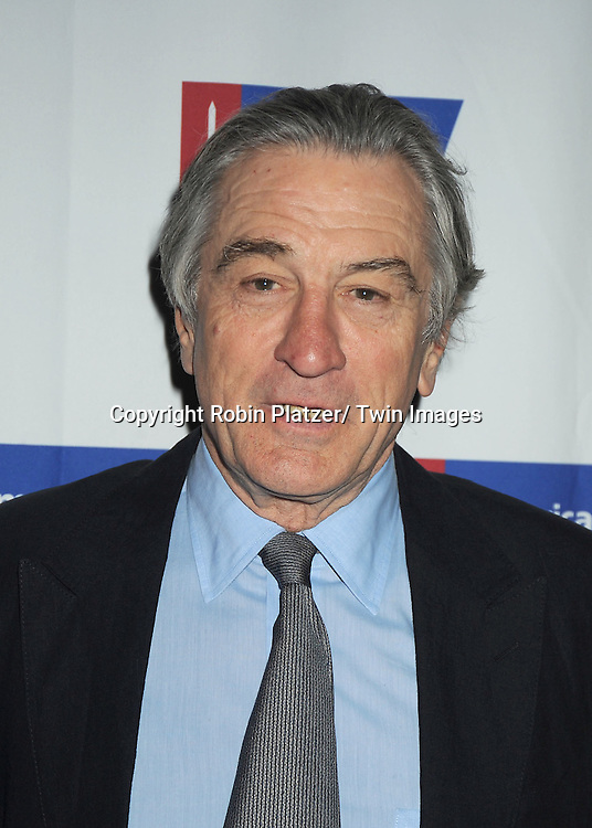 Robert De Niro attends The American Cancer Society of New York City  Mothers of the Year Luncheon on March 1, 2012 at The Plaza Hotel in New York City. The honorees were ..Grace Hightower, Dr Diane Reidy-Lagunes and Dr Emily Sonnenblick.