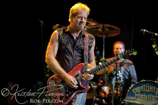 Night Ranger perform at Comcast Center in Mansfield, Massachusetts, on August 12, 2011