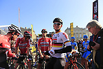 German National Champion Andre Greipel (GER) Lotto-Soudal on the start line for the 115th edition of the Paris-Roubaix 2017 race running 257km Compiegne to Roubaix, France. 9th April 2017.<br /> Picture: Eoin Clarke | Cyclefile<br /> <br /> <br /> All photos usage must carry mandatory copyright credit (&copy; Cyclefile | Eoin Clarke)