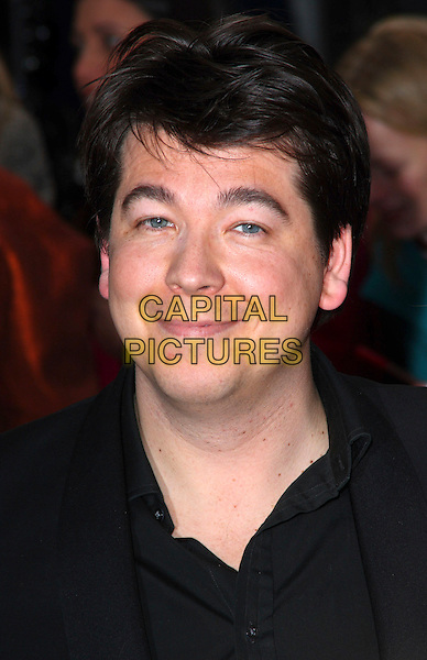 MICHAEL McINTYRE .British Comedy Awards 2009 held at the ITV Studios, South Bank, London,.December 12th 2009..portrait headshot black shirt .CAP/JIL.©Jill Mayhew/Capital Pictures
