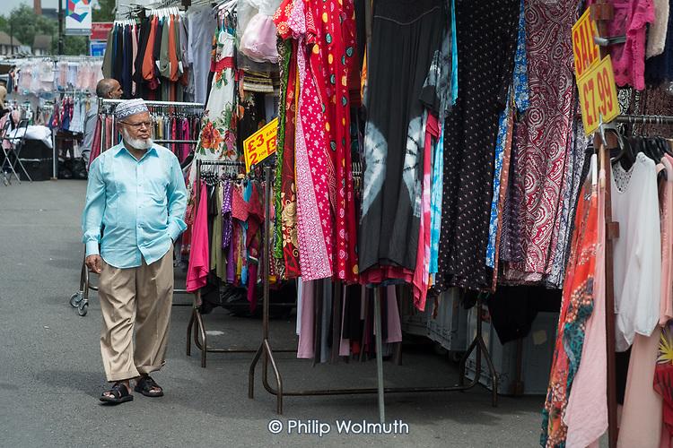Queen's Crescent market, Gospel Oak.