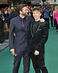 """David Tennant and Ty Tennant at the """"Tolkien"""" UK film premiere, Curzon Mayfair, Curzon Street, London, England, UK, on Monday 29th April 2019.<br /> CAP/CAN<br /> ©CAN/Capital Pictures"""