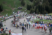 Nathan Brown (USA/Cannondale) coming up<br /> <br /> stage 15 (iTT): Castelrotto-Alpe di Siusi 10.8km<br /> 99th Giro d'Italia 2016