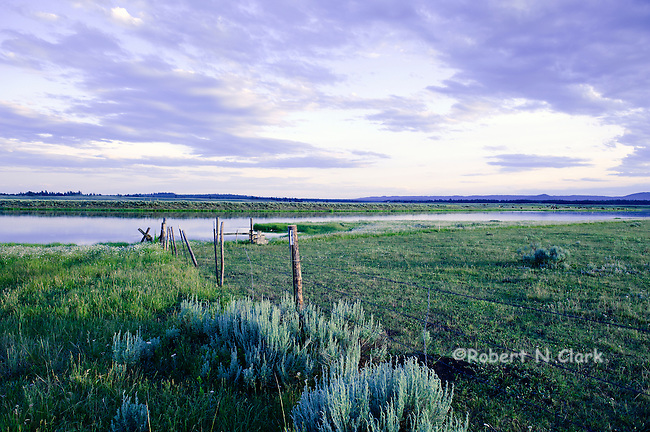 """Henry's Fork of the Snake River below Osborn Bridge and Highway 20, adjacent to the area known as the """"gravel pit"""""""