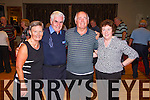 Pictured at a Charity Ceili in the Devon Inn Hotel on Sunday was L-R: Pat White, Waterville, Kevin Hennessy, Abbeyfeale, Tom and Joan Perryman, Newcastlewest.