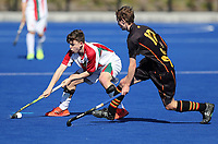 Westlake Boys High School v Pukekohe High School. Rankin Cup and India Shield 2019 Secondary School Hockey Tournament, Nga Puna Wai Sports Hub, Christchurch, Monday 02 September 2019. Photo: Martin Hunter/Hockey NZ