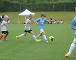 U10 Germantown Legends Black soccer in the the Buffalo Wild Wings' Blazin' 3v3 Tournament at the Mike Rose Soccer Complex in Memphis, Tenn. on Saturday, August 9, 2014.