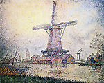 Dutch Mill at Edam, 1898 <br />