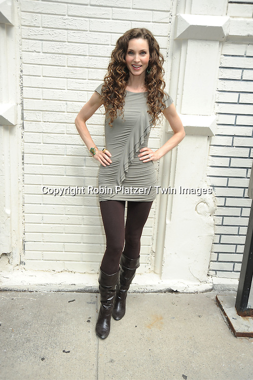 Alicia Minshew attending the Good Night Pine Valley Event co-hosted by All My Children actors Ricky Paull Goldin and Alicia Minshew on September 17, 2011 at Prohibition in New York City