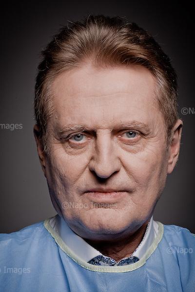WARSZAWA, 1/11/2014<br /> Prof. dr hab. n. med. R. Stefan Kiesz<br /> Fot: Piotr Malecki / Napo Images dla Forbes Polska<br /> <br /> WARSAW, POLAND, 1/11/2014:<br /> Polish cardiologist dr hab. n. med. R. Stefan Kiesz<br /> (Photo by Piotr Malecki / Napo Images)