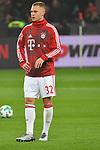 12.01.2018, BayArena, Leverkusen , GER, 1.FBL., Bayer 04 Leverkusen vs. FC Bayern M&uuml;nchen<br /> im Bild / picture shows: <br /> Joshua Kimmich (Bayern Muenchen #32),  Hochformat, <br /> <br /> <br /> Foto &copy; nordphoto / Meuter
