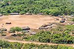 Vista a&eacute;rea da Aldeia Aiha da Etnia Kalapalo no Parque Ind&iacute;gena do Xingu | Aerial view of the Aiha Village of the Kalapalo Ethnicity in the Xingu Indigenous Park<br /> <br /> LOCAL: Quer&ecirc;ncia, Mato Grosso, Brasil <br /> DATE: 07/2009 <br /> &copy;Pal&ecirc; Zuppani