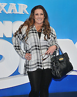 Sam Bailey at the &quot;Finding Dory&quot; UK film premiere, Odeon Leicester Square cinema, Leicester Square, London, England, UK, on Sunday 10 July 2016.<br /> CAP/CAN<br /> &copy;CAN/Capital Pictures ***USA and South America Only**