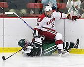 Evan Stephens (Dartmouth - 24), Alex Killorn (Harvard - 19) - The Harvard University Crimson defeated the Dartmouth College Big Green 4-1 (EN) on Monday, January 18, 2010, at Bright Hockey Center in Cambridge, Massachusetts.