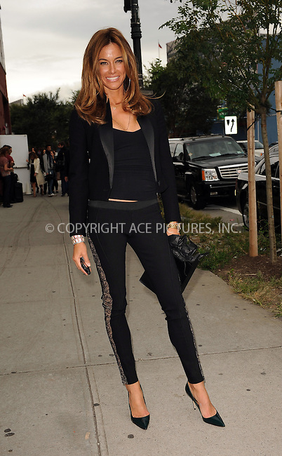 WWW.ACEPIXS.COM . . . . . ....September 16 2009, New York City....TV personality Kelly Killoren Bensimon arriving at the Marchesa Spring 2010 presentation as part of Mercedes Benz Fashion Week on September 16 2009 in New York City....Please byline: KRISTIN CALLAHAN - ACEPIXS.COM.. . . . . . ..Ace Pictures, Inc:  ..tel: (212) 243 8787 or (646) 769 0430..e-mail: info@acepixs.com..web: http://www.acepixs.com