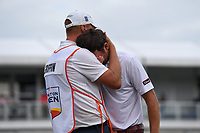 Lanto Griffin (USA) breaks down after winning the 2019 Houston Open, Golf Club of Houston, Houston, Texas, USA. 10/13/2019.<br /> Picture Ken Murray / Golffile.ie<br /> <br /> All photo usage must carry mandatory copyright credit (© Golffile | Ken Murray)