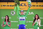 Marcel Kittel (GER) Quick-Step Floors retains the Green Jersey at the end of Stage 15 of the 104th edition of the Tour de France 2017, running 189.5km from Laissac-Severac l'Eglise to Le Puy-en-Velay, France. 16th July 2017.<br /> Picture: ASO/Pauline Ballet | Cyclefile<br /> <br /> <br /> All photos usage must carry mandatory copyright credit (&copy; Cyclefile | ASO/Pauline Ballet)