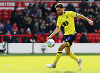 Blackburn Rovers' Ben Brereton in action<br /> <br /> Photographer David Shipman/CameraSport<br /> <br /> The EFL Sky Bet Championship - Nottingham Forest v Blackburn Rovers - Saturday 13th April 2019 - The City Ground - Nottingham<br /> <br /> World Copyright © 2019 CameraSport. All rights reserved. 43 Linden Ave. Countesthorpe. Leicester. England. LE8 5PG - Tel: +44 (0) 116 277 4147 - admin@camerasport.com - www.camerasport.com