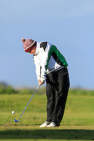 Jack Hume (Naas) on the 12th tee during Round 3 of The Irish Amateur Open Championship in The Royal Dublin Golf Club on Saturday 10th May 2014.<br /> Picture:  Thos Caffrey / www.golffile.ie