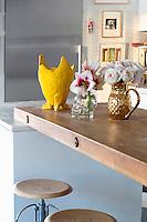Modern wooden countertop